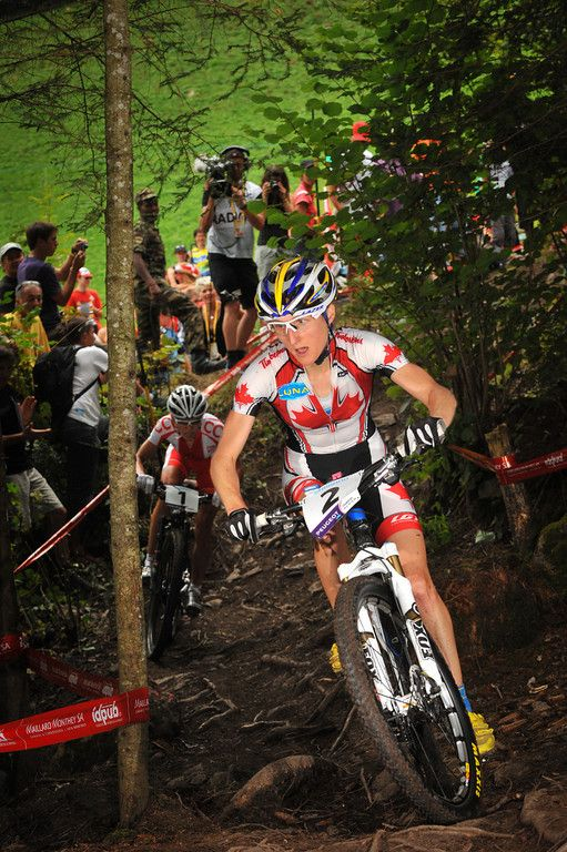 2167ba4d2 Catharine Pendrel during MTB World Championships   Champéry  http   www.benjamintheys.