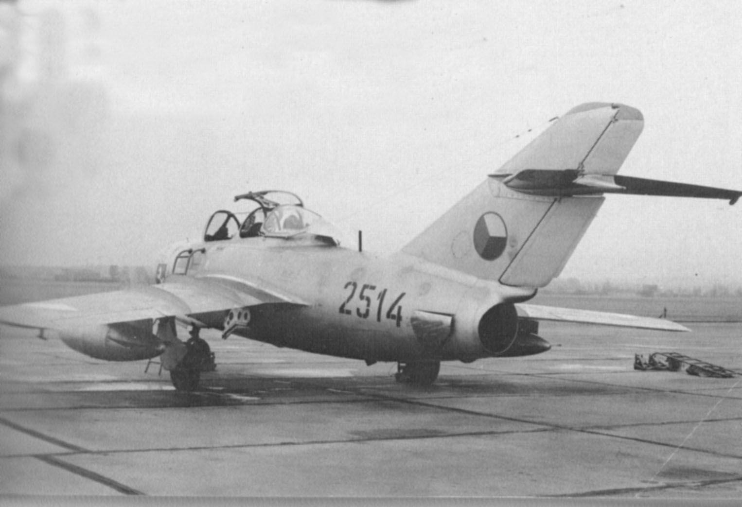 """Mig-15UTI """"Mignet""""2514 CzAF Pilot, Aircraft, Plane, Pilots,"""