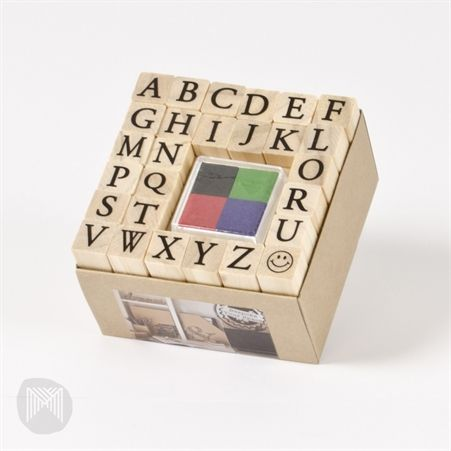Collected & Co. by Micador Stamp Set - ABC Uppercase $15.00
