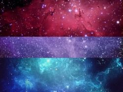 aaaahhh bisexual galaxy aesthetic pretty found on tumblr bisexual