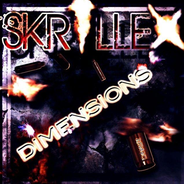Skrillex Dimensions 2012 Mixtape RNBU Image Cover Genre Electro House Techno Dubstep Allpost