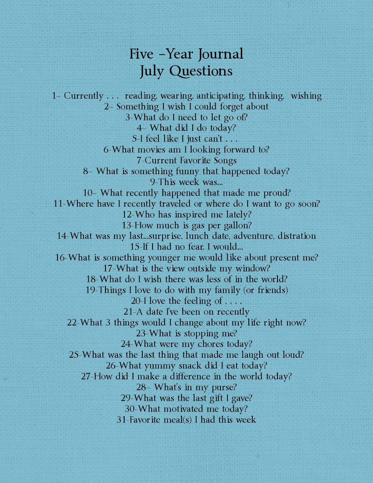 five year journal questions cupofdelight pot com five year journal questions cupofdelight pot com
