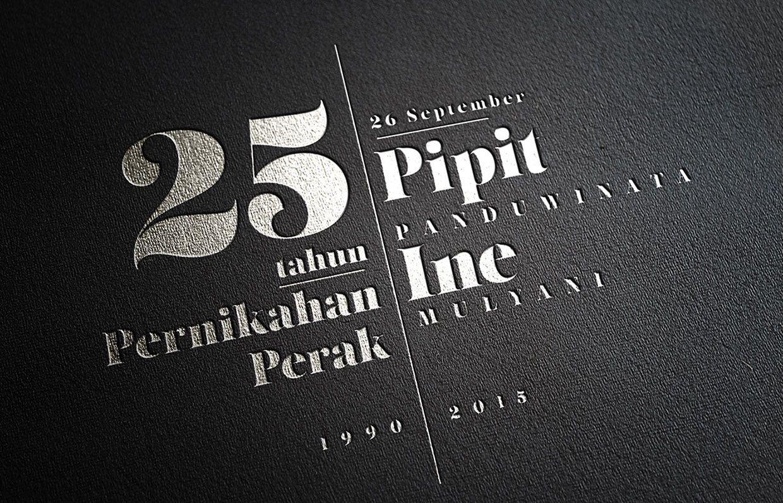 25 Tahun Pernikahan Perak (September 26, 2015) on Behance