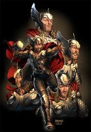 Image result for thor comic art