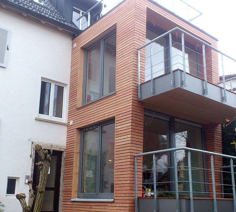 Anbau und Aufstockung Holzbau Schaible Haus