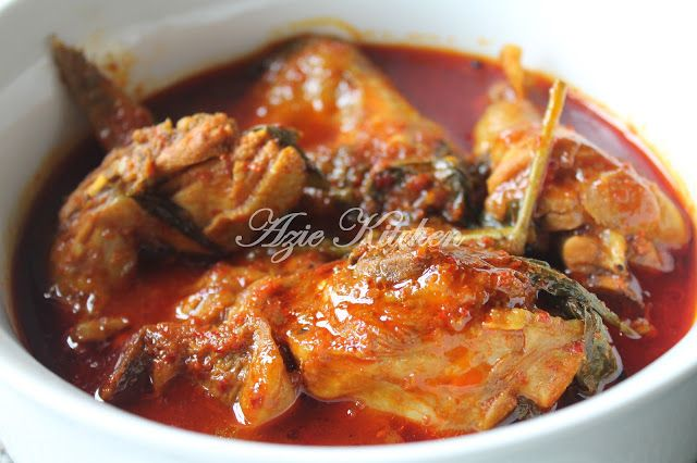 Azie Kitchen Masak Asam Pedas Ayam