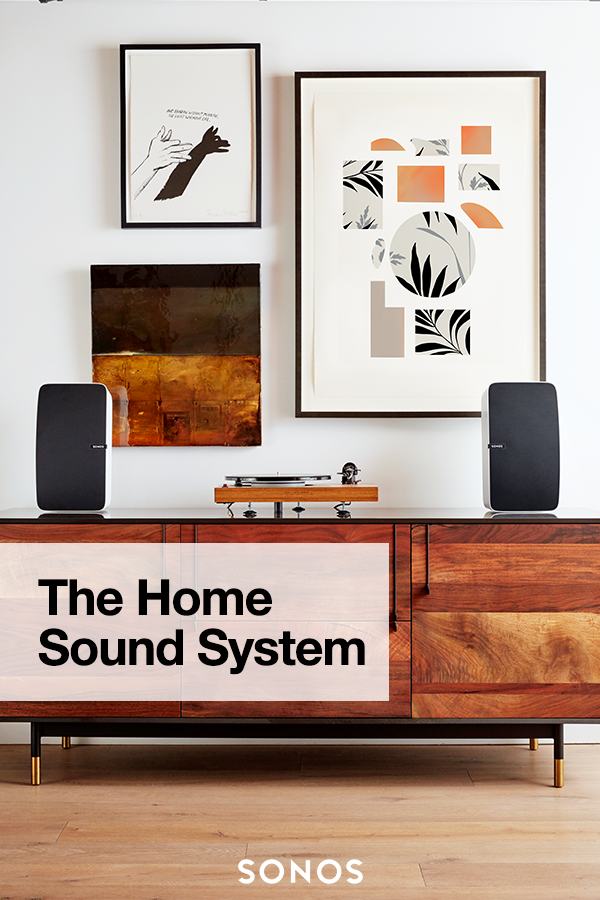 Bring Music Home The Sonos Home Sound System Plays All The Music