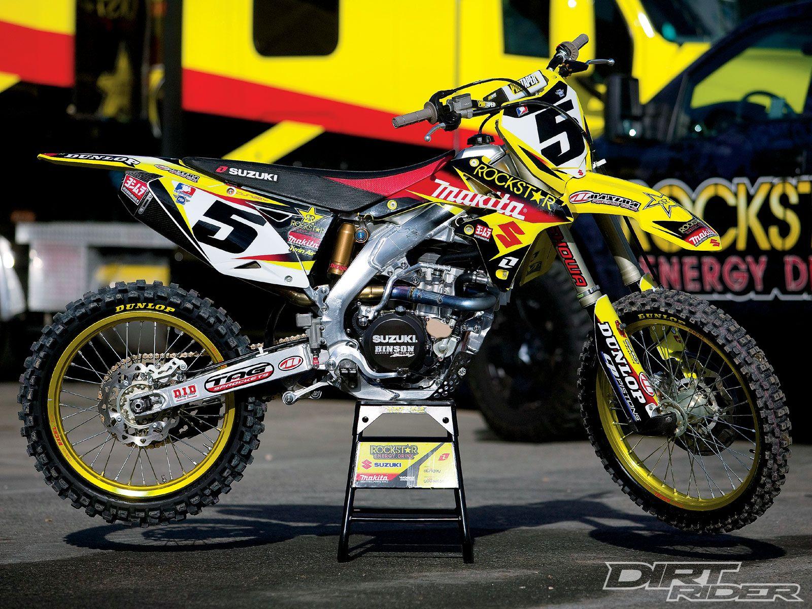 Suzuki Dirt Bikes 450