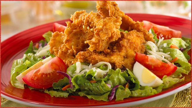 Cajun Fried Chicken Salad Tgi Friday S