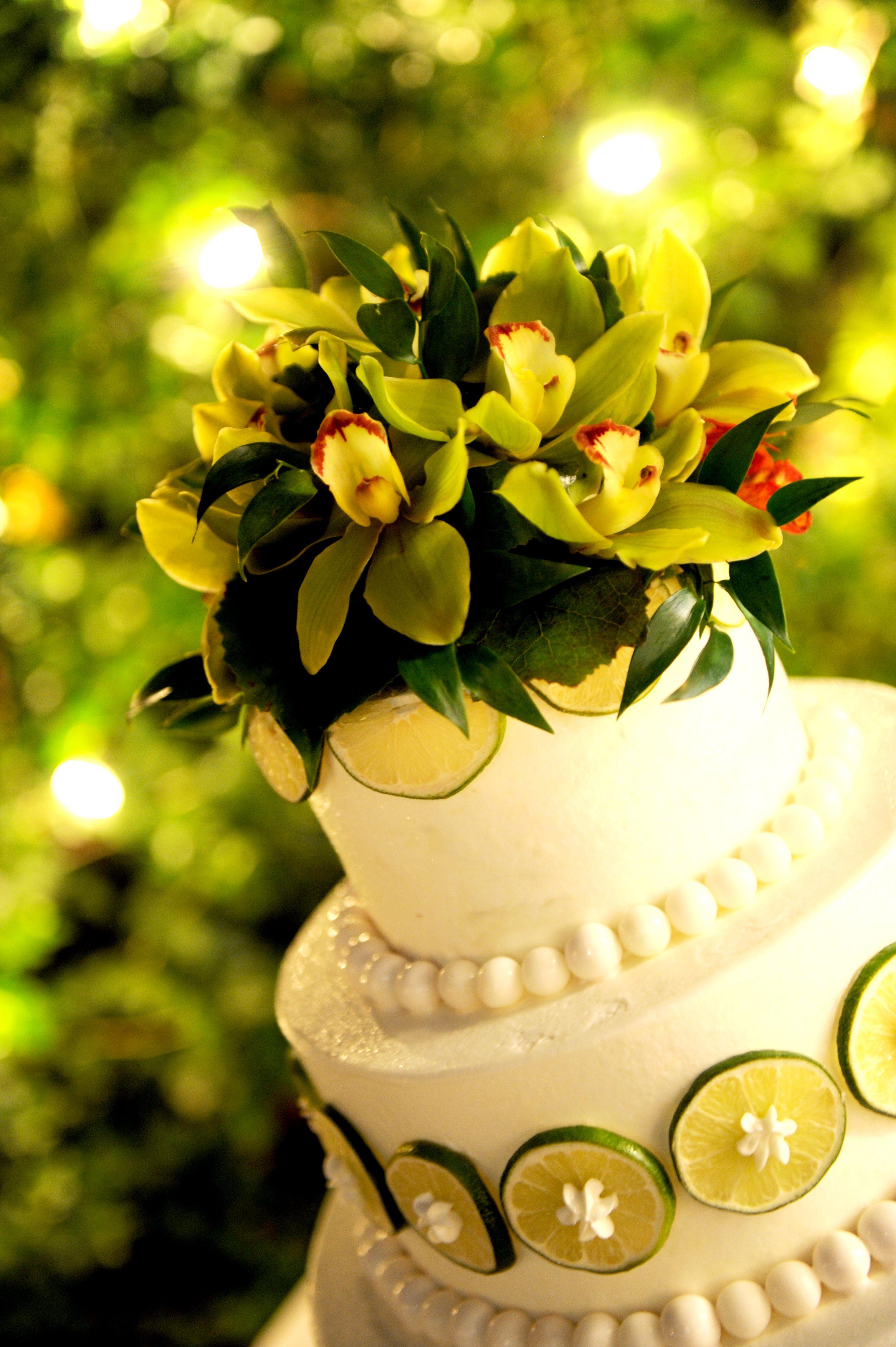 key lime wedding cake Google Search Tropical wedding