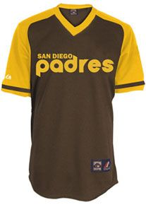 46c100a35 San Diego Padres throwback jersey   Sports Apparel   Baseball ...