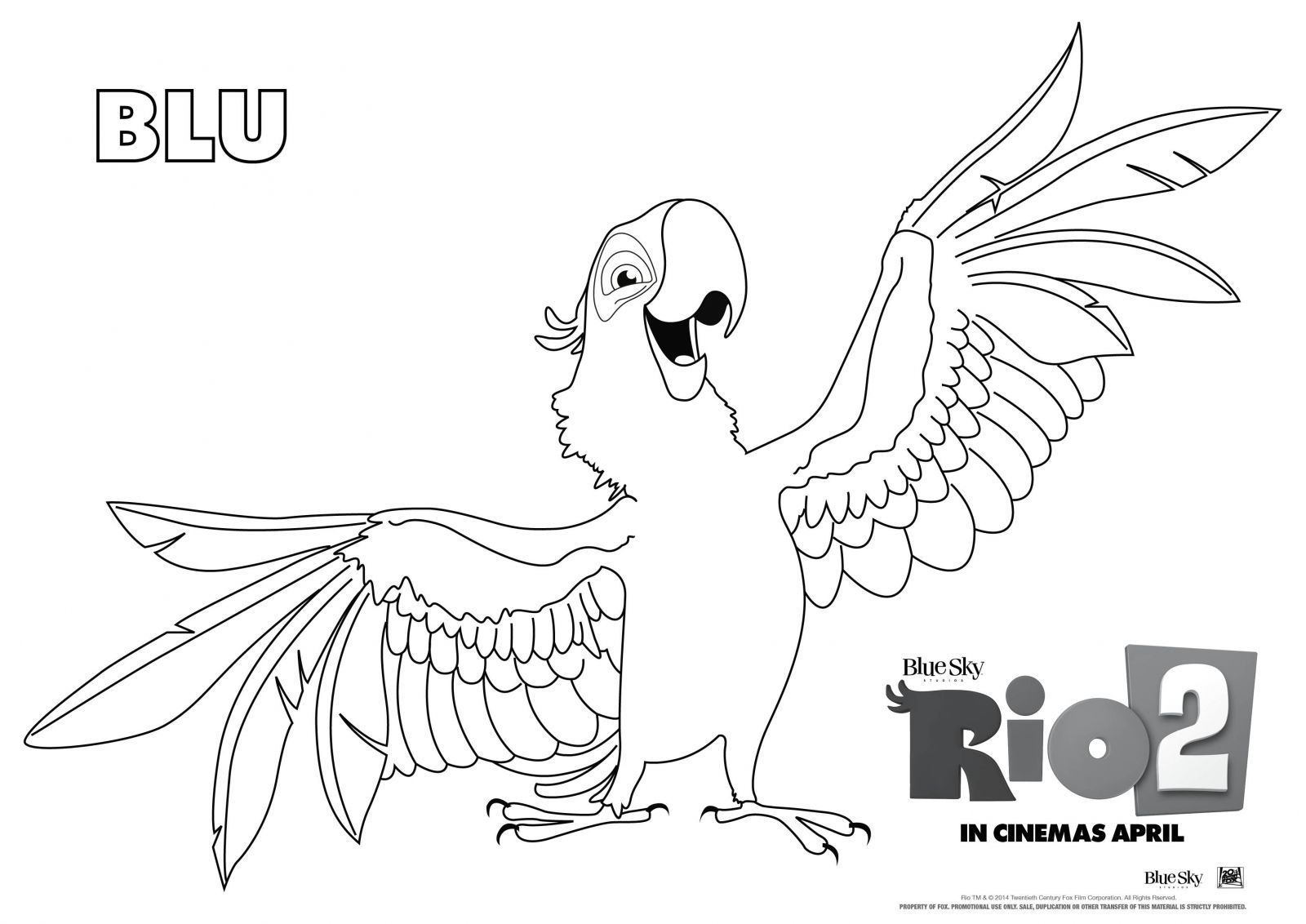 Pin By Alicja Horczak On Home Movie Makeover Super Coloring Pages Coloring Pages Rio Movie