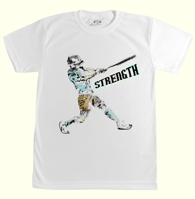 Sport T Shirt Baseball Custom Tee Shirt Kids Clothes Custom Printing