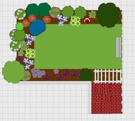 Free On Line Garden Planner The Website Should Come With A