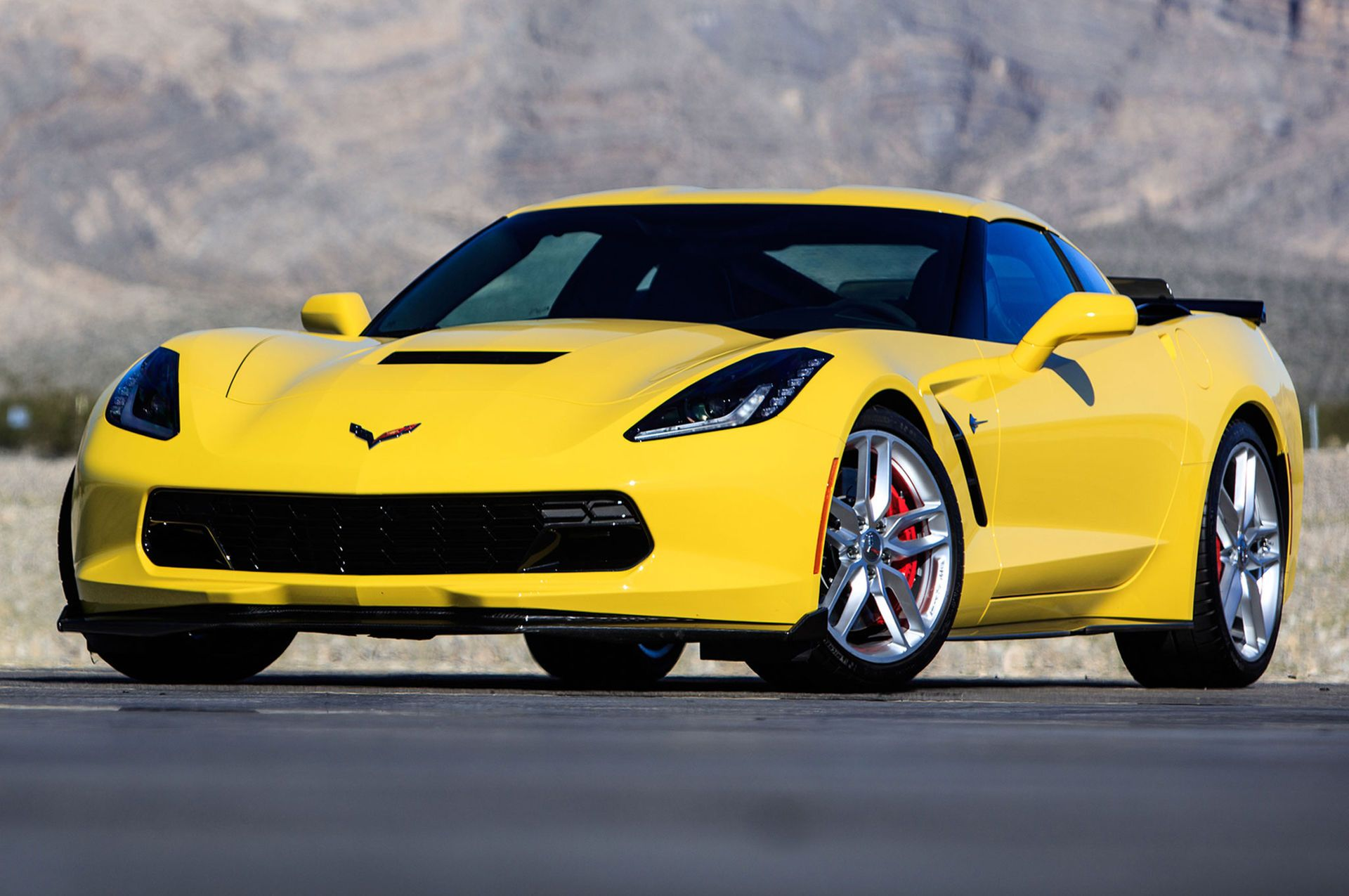 corvette 2017 yellow