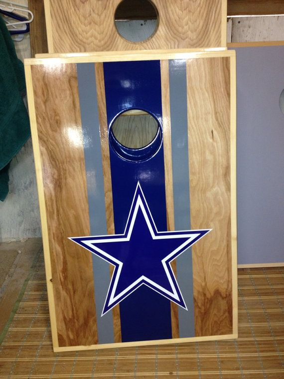 Dallas Cowboystailgate Cornhole Game By Time4cornhole On