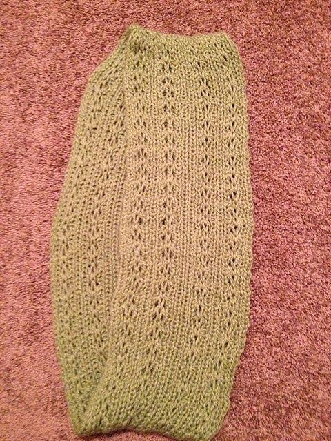 Ravelry Chunky Lacy Loom Knit Infinity Scarf Pattern By Dayna