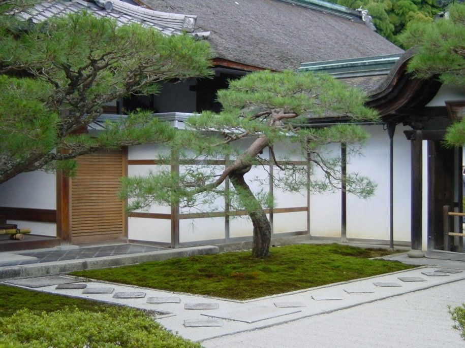 Apartments Terrific Japanese Front Yard Design With