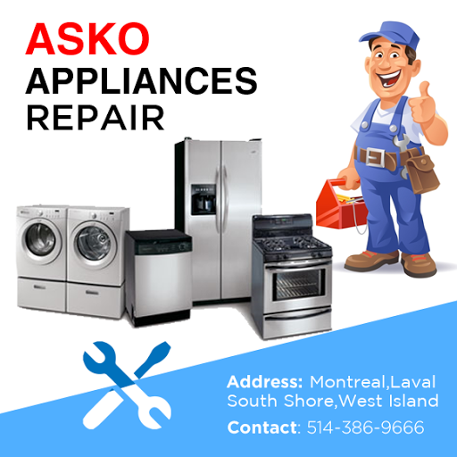 Asko Appliance repair, Refrigeration, air conditioning