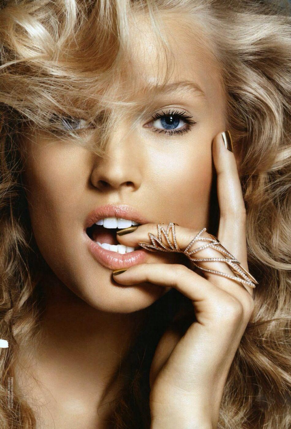 Byrdie Toni Garrn Beauty Beauty Model
