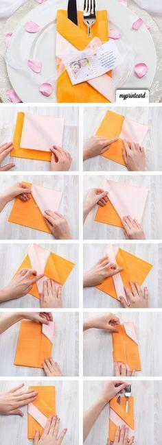 kreativ servietten falten die bestecktasche kommunion pinterest bestecktasche servietten. Black Bedroom Furniture Sets. Home Design Ideas