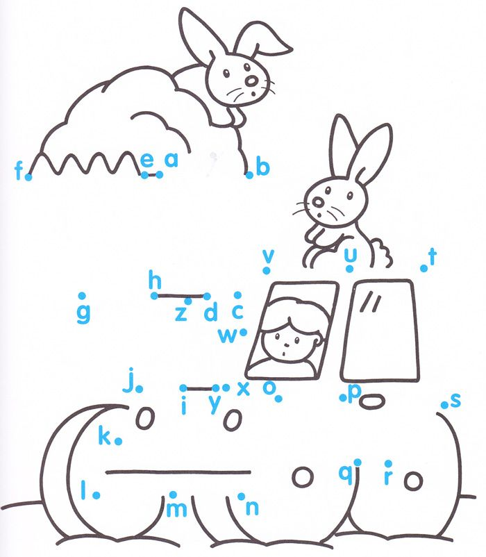 Connect-the-dots for kids. | HS Handwriting Practice | Pinterest ...