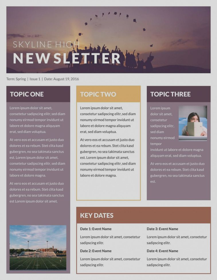Amazing Publisher Templates Newsletter Free Email Examples