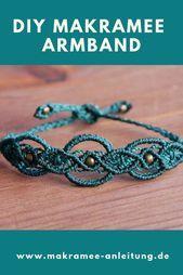 Photo of Macrame INSTRUCTIONS – oriental bracelet Complete macrame instructions on the …