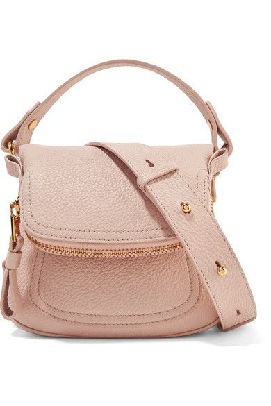 ace13b506f28 Tom Ford Jennifer mini textured-leather shoulder bag - sale designer  handbags
