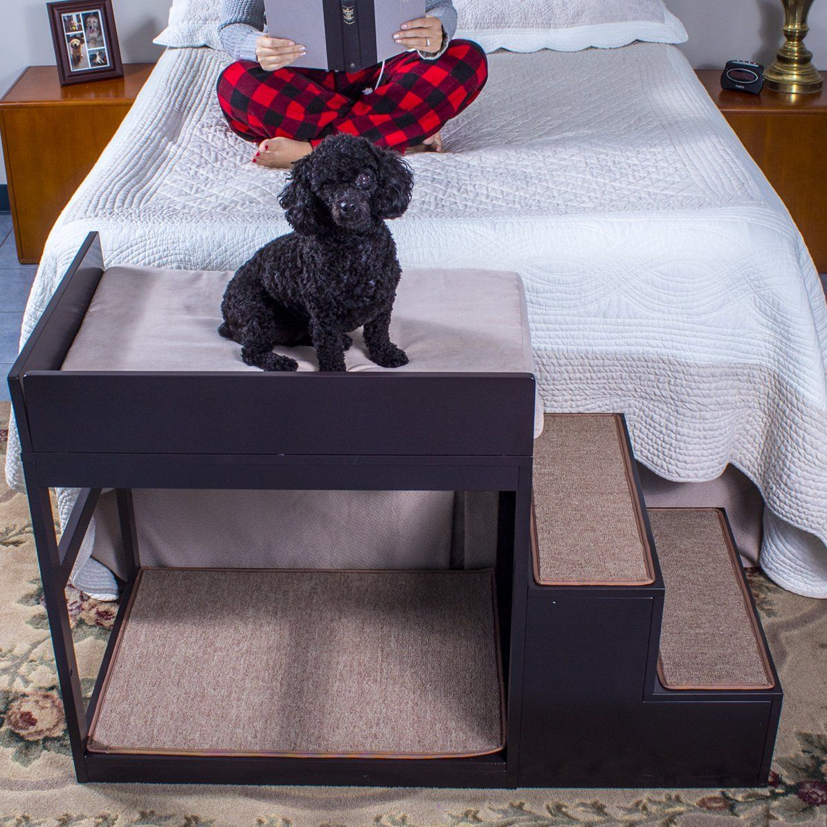 Penn Plax Multi Level Pet Dog Stairs Multicolor Walmart Com In 2021 Dog Bunk Beds Dog Stairs Pet Stairs