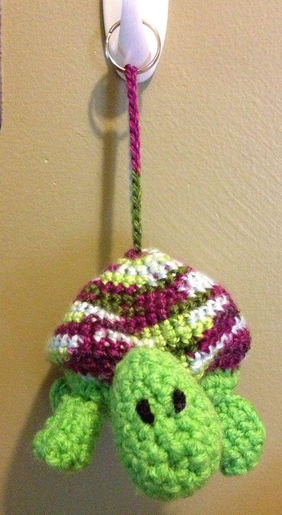 Turtle Earbud Keeper on Etsy