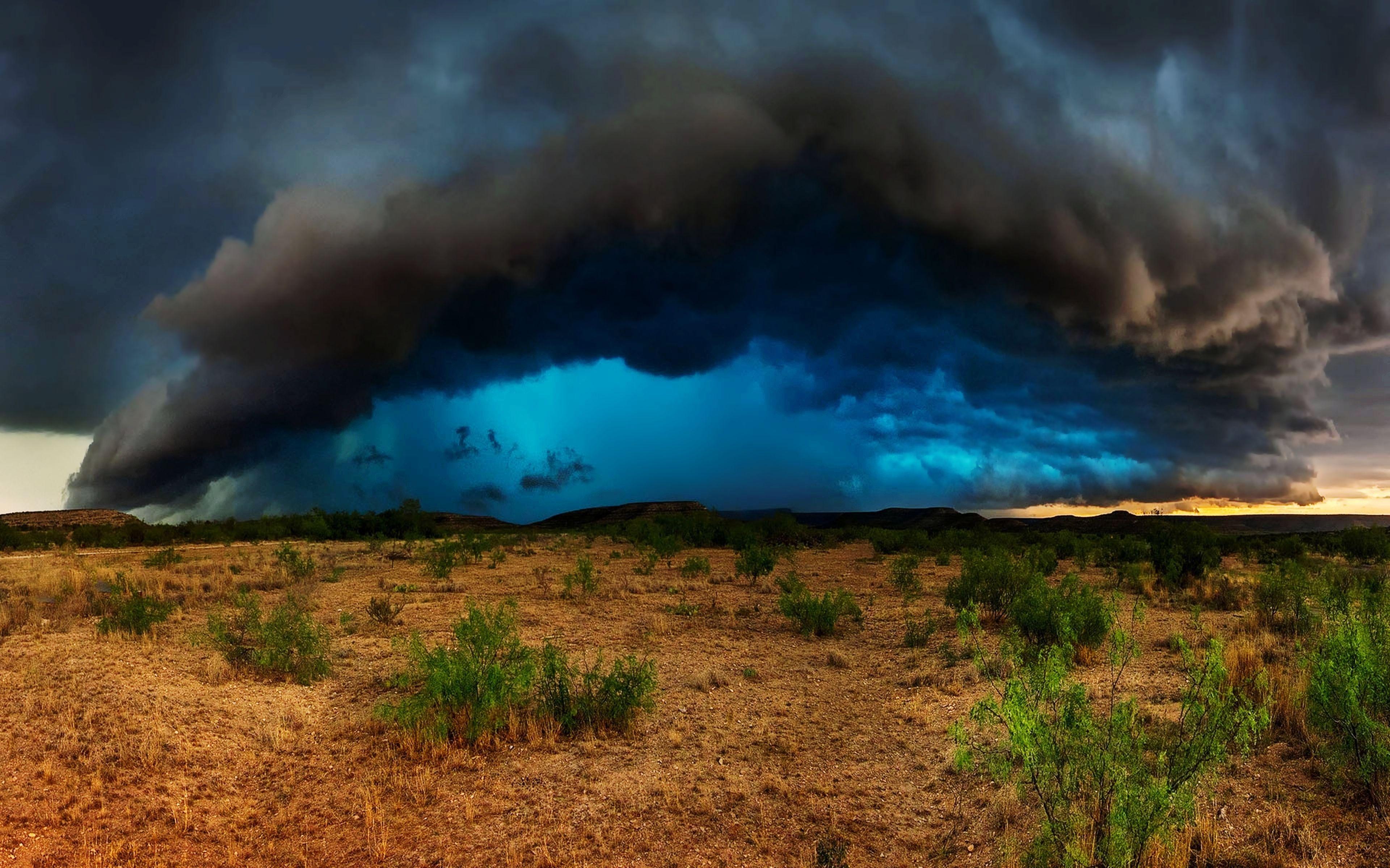 Storm In The Desert 2019 Wallpaper Cloud