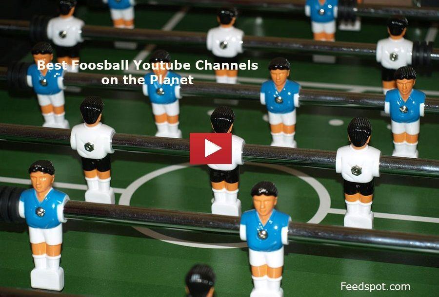 Top 10 Foosball Youtube Channels To Follow In 2020 Table Football Foosball Foosball Table