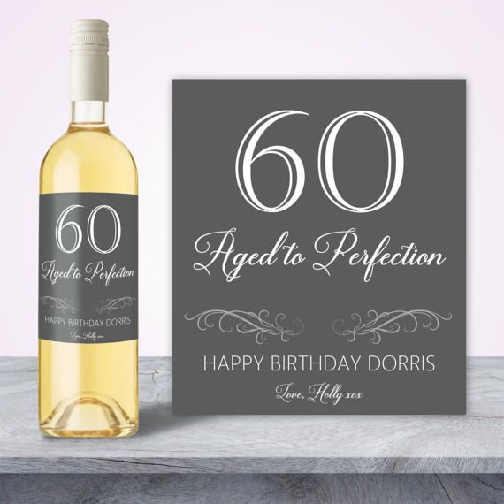 60th Birthday Gift For Women By SpecialLittleThought