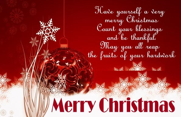 Merry Christmas December 25, 2019 Wishes Greetings