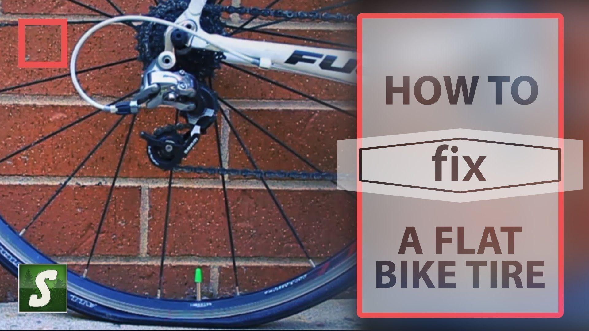 Fix a flat bike tire bike tire bike tire
