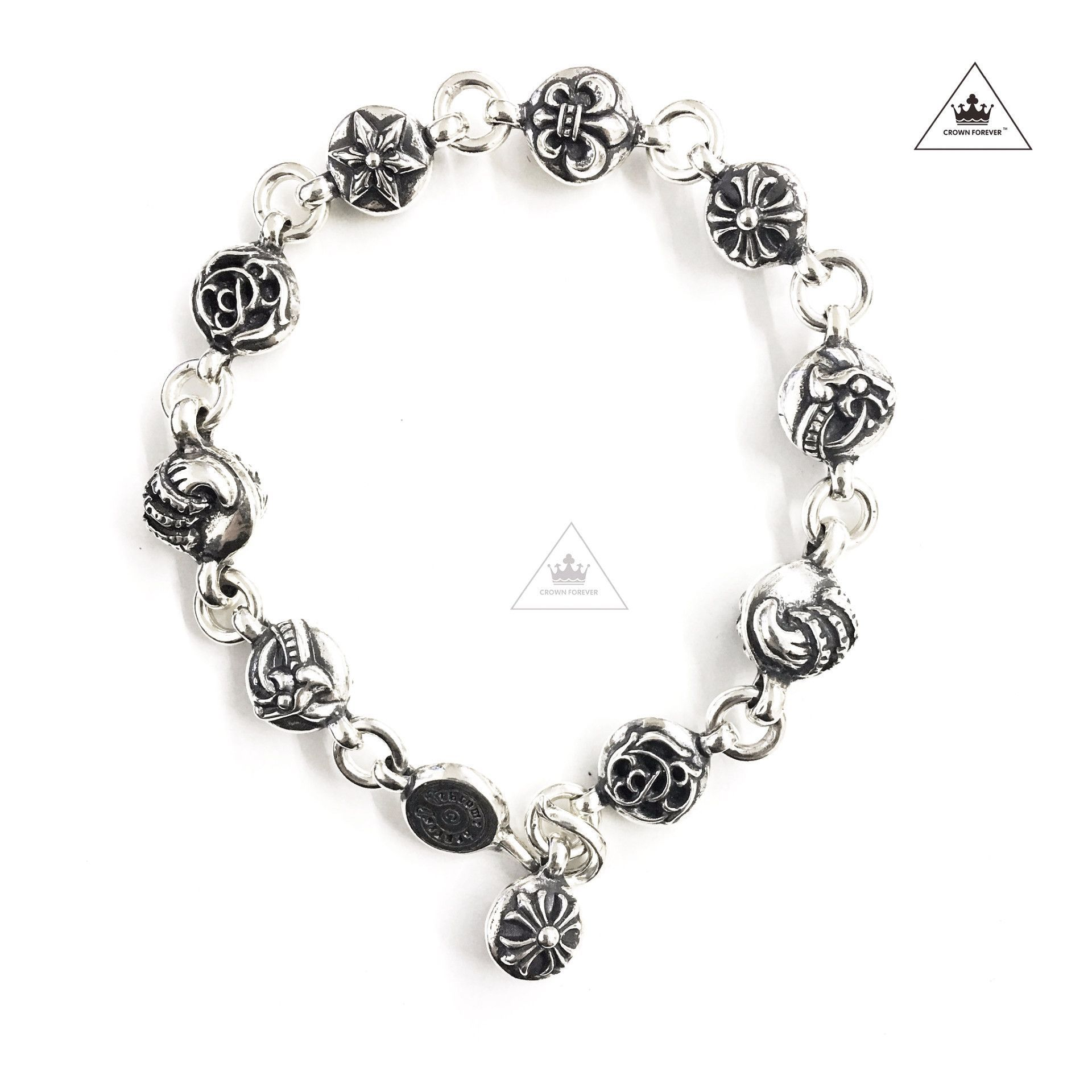 ac0761b837f8 ... Chrome Hearts Jewelry by Crown Forever. CH Multi Ball Bracelet