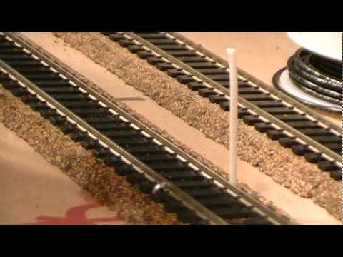 how to solder track \u0026 feeder wires (ho scale model railroad) ho Wiring for DCC Layout
