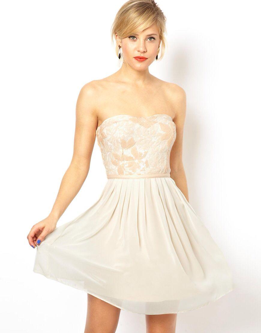 Mini white wedding dress  Silky  Dresses  Pinterest