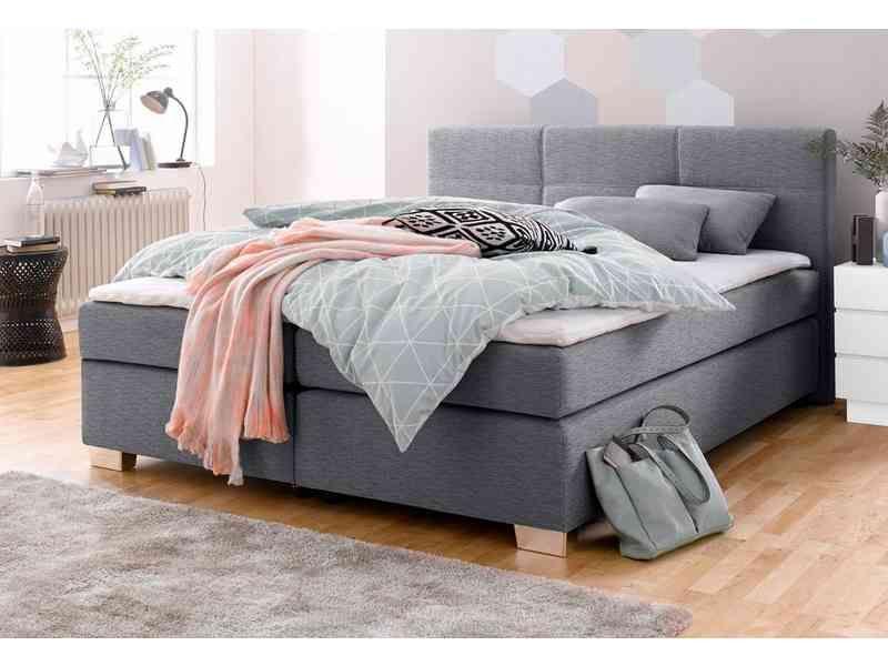 boxspringbett inkl topper und kissen wohnungseinrichtung pinterest bett schlafzimmer und. Black Bedroom Furniture Sets. Home Design Ideas
