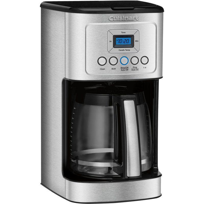 Cuisinart 14 Cup Programmable Coffeemaker Best coffee
