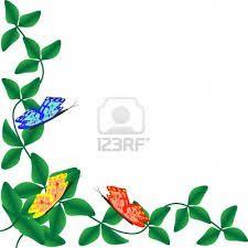 butterflies on leaves