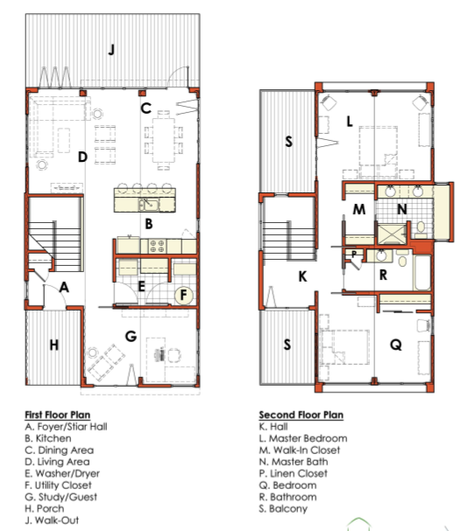 Shipping Container Home Plans California: Layout For A Basic 2-storeyed Container Home