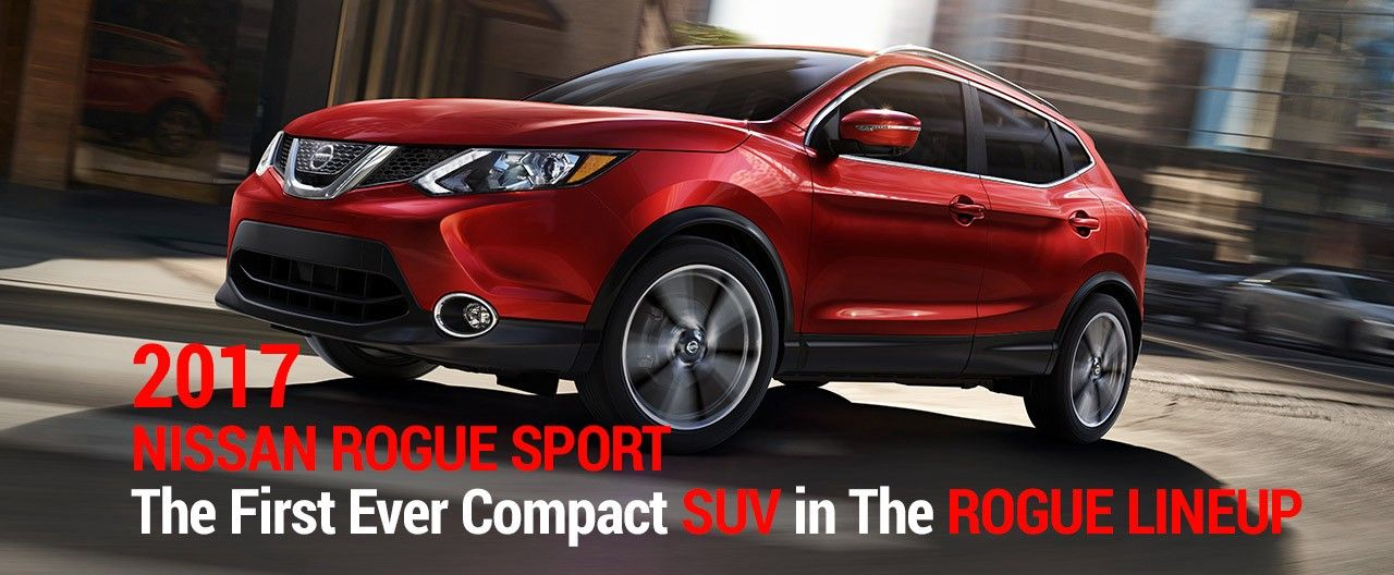 The First 2017 Nissan Rogue Sport Ever Compact SUV in The