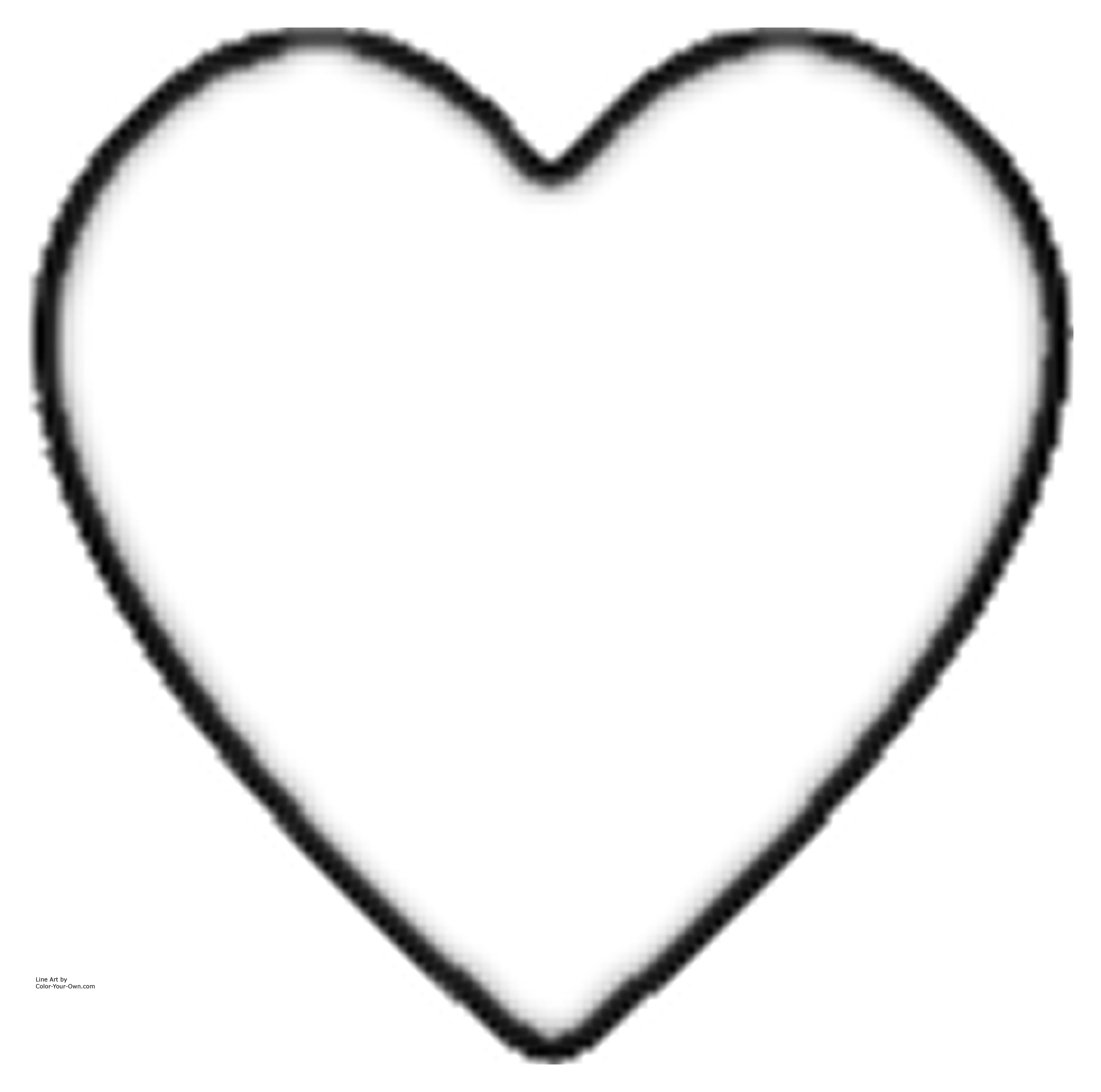 Valentine Heart Coloring Sheet | Valentine Heart Coloring Page ...