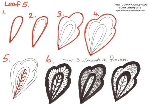 Jan '14 In true tangle pinterest style I am naming each of my flower/leaf and tangle tutorials though will still keep numbered to save confusion...