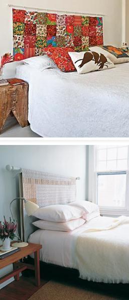 patchwork confira a seleo de lindos trabalhos schlafzimmerselbstgemachte kopfteilepatchworkhandgefertigte kopfteilestoffrestebett - Hausgemachte Kopfteile Fr Betten