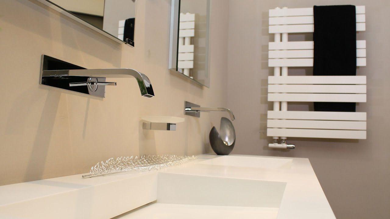 Badezimmer Heizkörper ~ Der kelly flat heizkörper in weiß matt passend zu allen corian