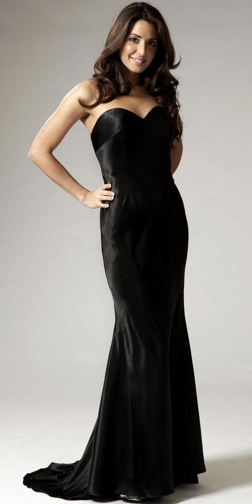 long-black-evening-dresslong-black-sweetheart-satin-evening-dress ...