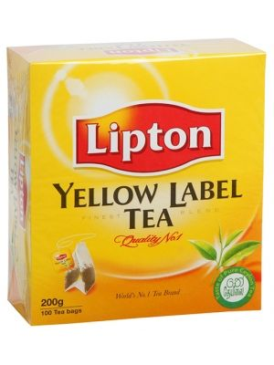 ELLOW LABEL Herbata Ekspresowa  • delikatny smak • oryginalny aromat • pobudzające działanie • ekonomiczne opakowanie